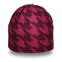 Plum Houndstooth Chill Toque_1